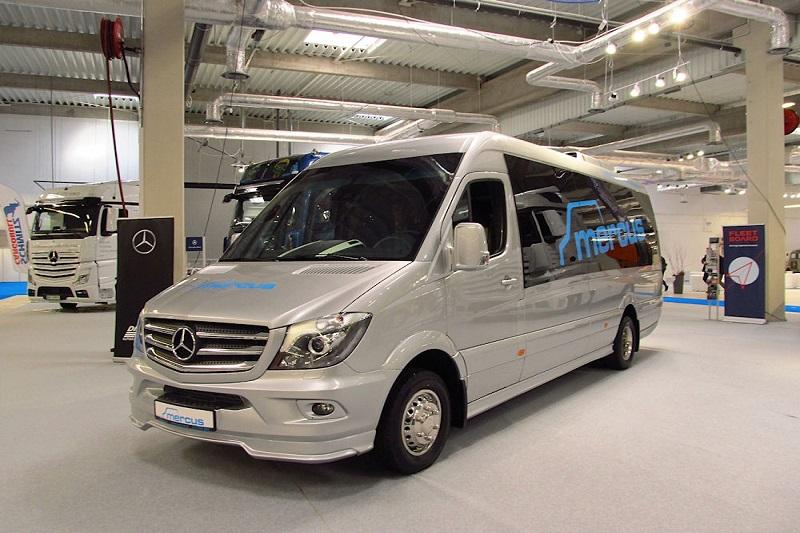 7 Star Limo Mercedes Sprinter Van